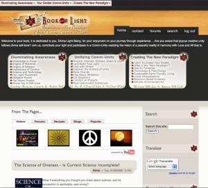 First Book-of-Light Website 2008 Drupal
