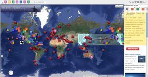 First Ocean Legacy Foundation Hotspot Map