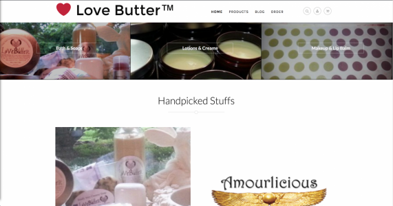 LoveButter Ecommerce Website