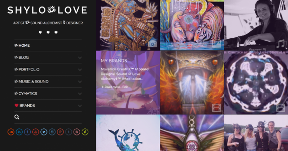 Shylo Love Website & Portfolio