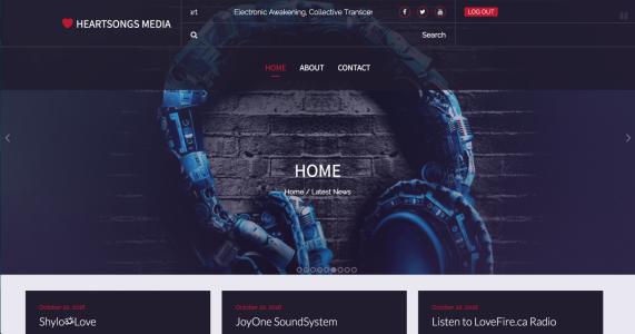 Heartsongs Media Website