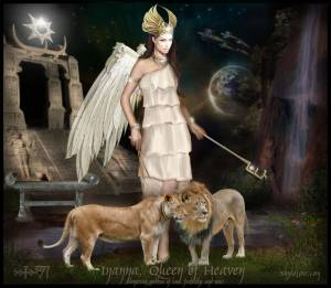 Inanna   Queen Of Heaven By Shylolove-d82o2ea